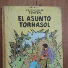 Cómics: TINTÍN - EL ASUNTO TORNASOL. SEGUNDA EDICIÓN 1965. Lote 137211170