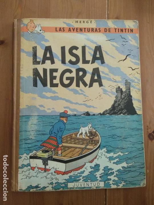 TINTÍN - LA ISLA NEGRA. SEGUNDA EDICIÓN 1967 (Tebeos y Comics - Juventud - Tintín)
