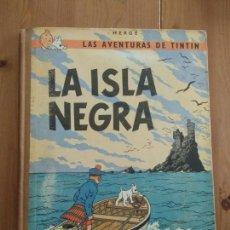 Cómics: TINTÍN - LA ISLA NEGRA. SEGUNDA EDICIÓN 1967. Lote 137212058