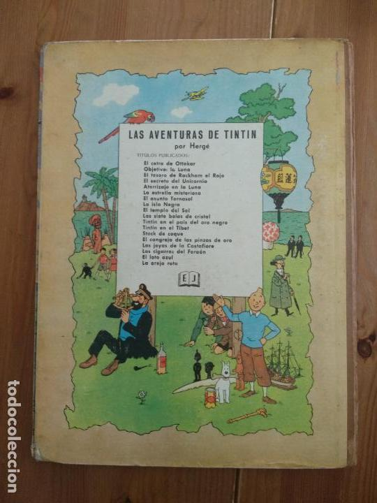 Cómics: Tintín - LA ISLA NEGRA. segunda edición 1967 - Foto 2 - 137212058
