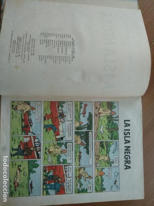 Cómics: Tintín - LA ISLA NEGRA. segunda edición 1967 - Foto 4 - 137212058