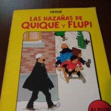 Cómics: LAS HAZAÑAS DE QUIQUE Y FLUPI. ÁLBUM 2. HERGÉ. Lote 137270321