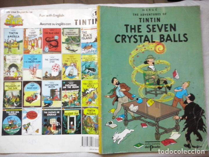 REVISTAS: TINTIN - THE SEVEN CRYSTAL BALLS (ABLN) (Tebeos y Comics - Juventud - Tintín)