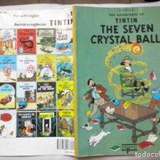 Cómics: REVISTAS: TINTIN - THE SEVEN CRYSTAL BALLS (ABLN). Lote 137680286