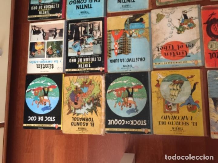 Cómics: LOTE DE 24 COMIC TINTIN , JUVENTUD - Foto 2 - 137719594