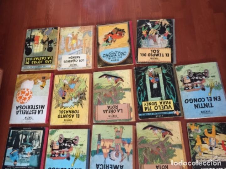 Cómics: LOTE DE 24 COMIC TINTIN , JUVENTUD - Foto 4 - 137719594