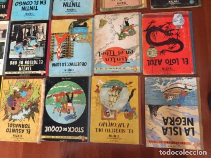 Cómics: LOTE DE 24 COMIC TINTIN , JUVENTUD - Foto 8 - 137719594