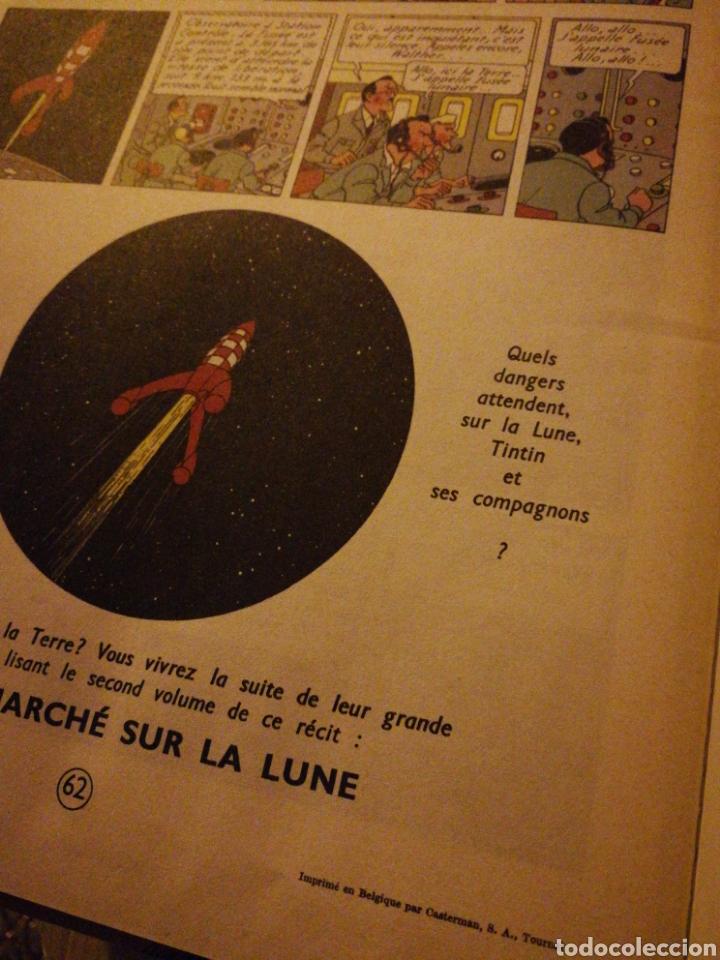 Cómics: LES AVENTURES DE TINTIN- OBJECTIF LUNE, CASTERMAN- 1°EDICIÓN.(IMP.BELGICA) EN FRANCÉS. - Foto 10 - 130987673