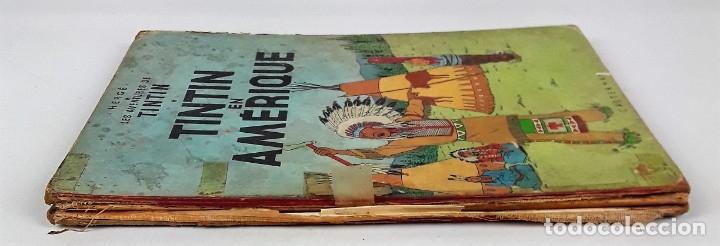 Cómics: 6036- TINTIN EN AMÉRIQUE. HERGE. EDIT. CASTERMAN. 1947. - Foto 5 - 39368351