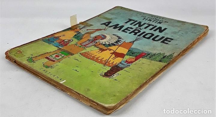Cómics: 6036- TINTIN EN AMÉRIQUE. HERGE. EDIT. CASTERMAN. 1947. - Foto 6 - 39368351