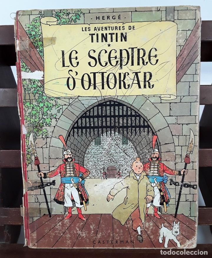 Cómics: 6047- LE SCEPTRE D'OTTOKAR. TINTIN. HERGE. EDIT. CASTERMAN. 1947. - Foto 6 - 62220582