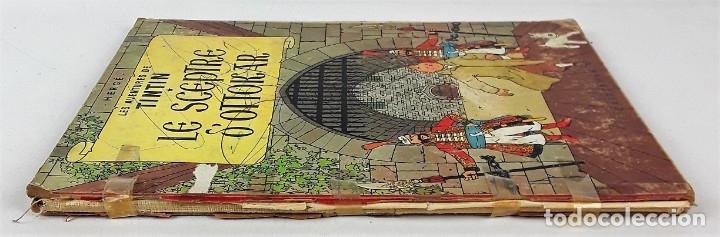 Cómics: 6047- LE SCEPTRE D'OTTOKAR. TINTIN. HERGE. EDIT. CASTERMAN. 1947. - Foto 7 - 62220582