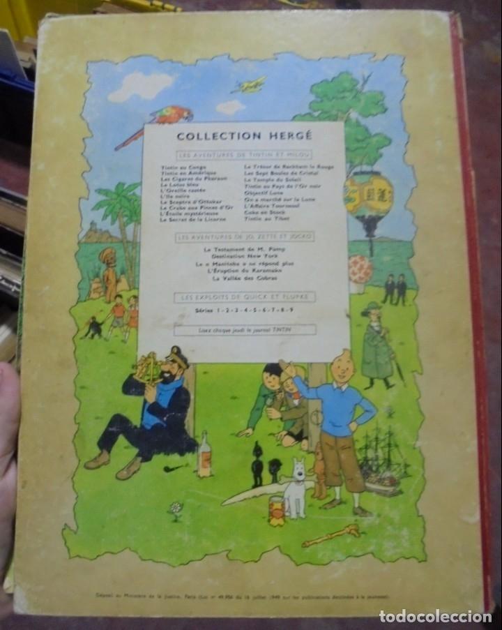 Cómics: LES AVENTURES DE TINTIN. CASTERMAN. 1947. LOREILLE CASSEE. VER FOTOS - Foto 5 - 121127535