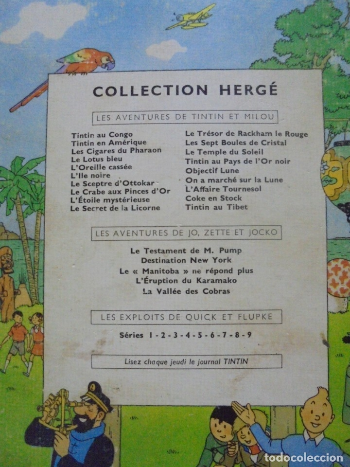 Cómics: LES AVENTURES DE TINTIN. CASTERMAN. 1947. LOREILLE CASSEE. VER FOTOS - Foto 6 - 121127535