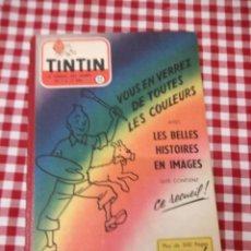 Cómics: TINTÍN LE JOURNAL DESDE JEUNES N 22.VOUS EN VERREZ DE TOUTES LES COULEURS 1954. MÁS DE 300 PÁGINAS.. Lote 138680722