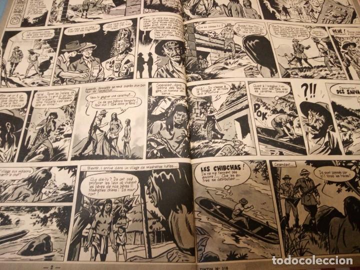 Cómics: Tintín le journal desde jeunes n 22.vous en verrez de toutes les couleurs 1954. Más de 300 páginas. - Foto 8 - 138680722