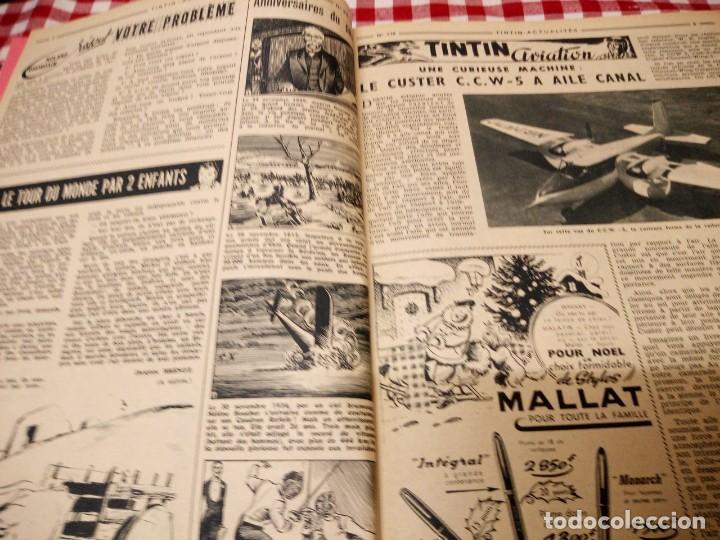 Cómics: Tintín le journal desde jeunes n 22.vous en verrez de toutes les couleurs 1954. Más de 300 páginas. - Foto 9 - 138680722