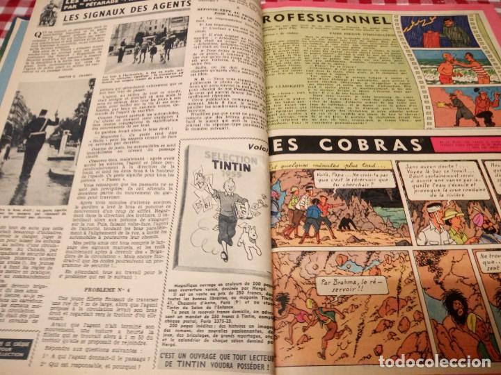 Cómics: Tintín le journal desde jeunes n 22.vous en verrez de toutes les couleurs 1954. Más de 300 páginas. - Foto 10 - 138680722