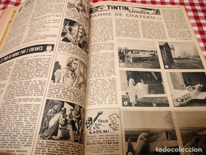 Cómics: Tintín le journal desde jeunes n 22.vous en verrez de toutes les couleurs 1954. Más de 300 páginas. - Foto 11 - 138680722