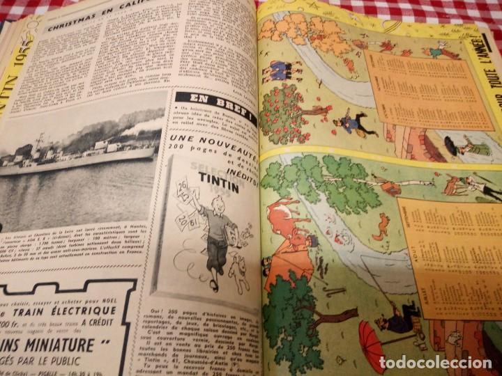Cómics: Tintín le journal desde jeunes n 22.vous en verrez de toutes les couleurs 1954. Más de 300 páginas. - Foto 12 - 138680722