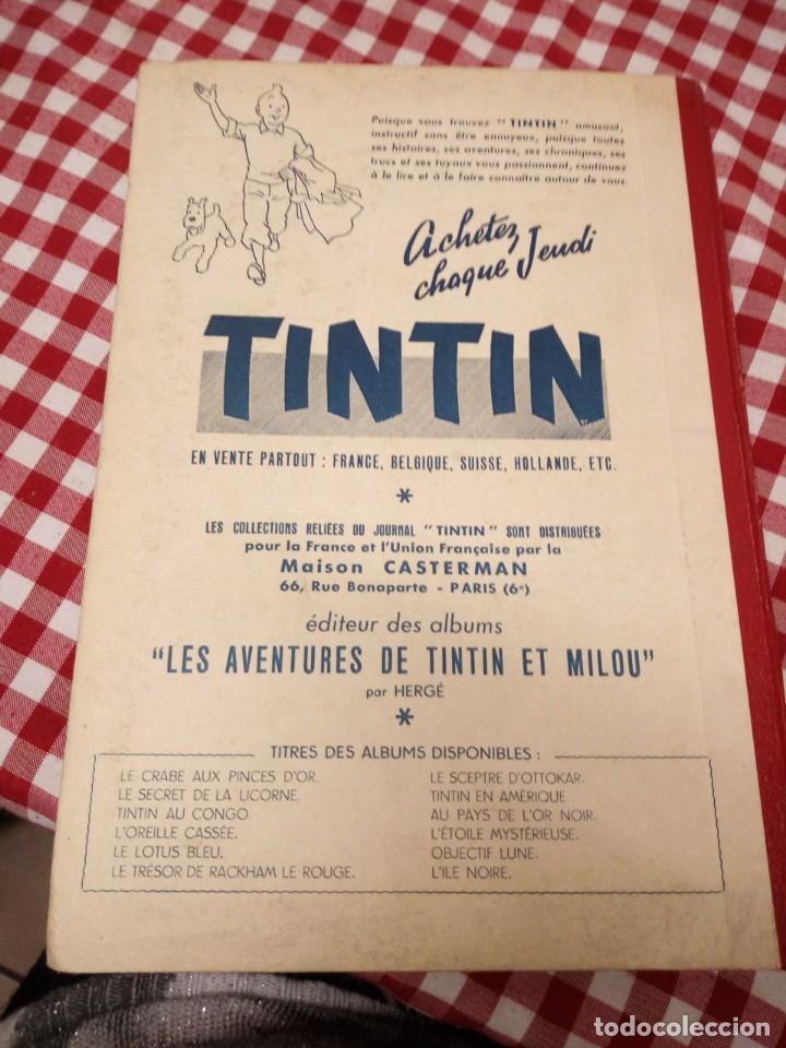Cómics: Tintín le journal desde jeunes n 22.vous en verrez de toutes les couleurs 1954. Más de 300 páginas. - Foto 14 - 138680722