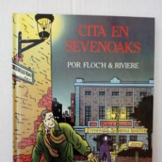 Cómics: CITA EN SEVENOAKS, POR FLOC´H Y RIVIERE. Lote 165050689