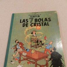 Cómics: TINTIN .- HERGÈ - EDITORIAL JUVENTUD - LAS 7 BOLAS DE CRISTAL - SEGUNDA EDICIÓN 1967. Lote 138916866