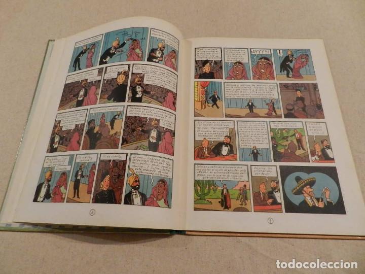 Cómics: TINTIN .- HERGÈ - EDITORIAL JUVENTUD - LAS 7 BOLAS DE CRISTAL - SEGUNDA EDICIÓN 1967 - Foto 6 - 138916866