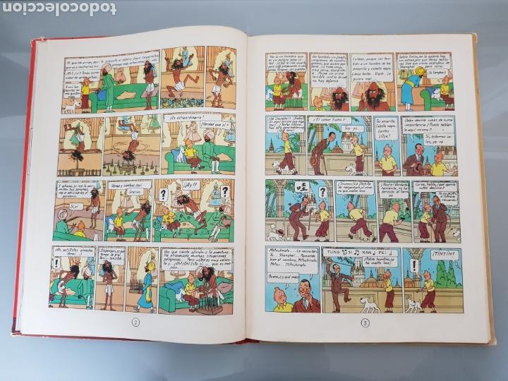 Cómics: TINTIN EL LOTO AZUL 3a EDICION 1970 LIMPIO - Foto 9 - 139184421