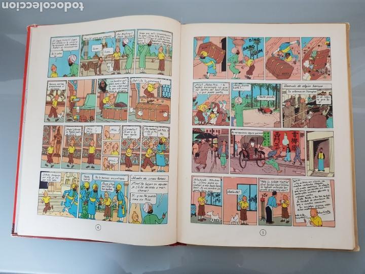 Cómics: TINTIN EL LOTO AZUL 3a EDICION 1970 LIMPIO - Foto 11 - 139184421