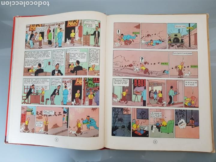 Cómics: TINTIN EL LOTO AZUL 3a EDICION 1970 LIMPIO - Foto 13 - 139184421