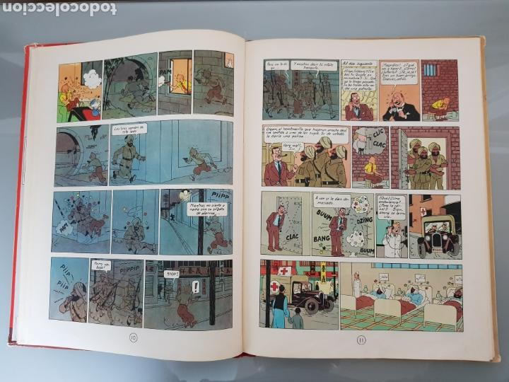 Cómics: TINTIN EL LOTO AZUL 3a EDICION 1970 LIMPIO - Foto 14 - 139184421