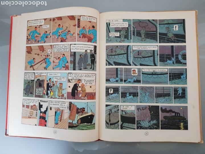 Cómics: TINTIN EL LOTO AZUL 3a EDICION 1970 LIMPIO - Foto 16 - 139184421