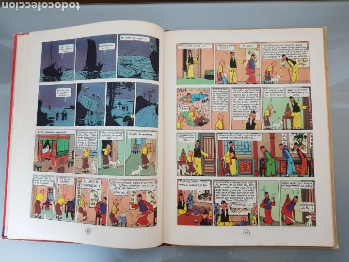 Cómics: TINTIN EL LOTO AZUL 3a EDICION 1970 LIMPIO - Foto 17 - 139184421