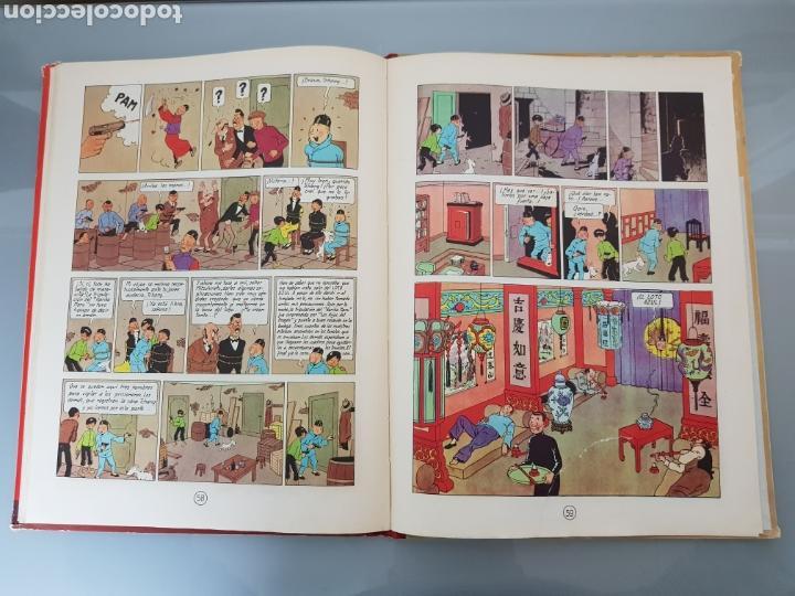 Cómics: TINTIN EL LOTO AZUL 3a EDICION 1970 LIMPIO - Foto 18 - 139184421
