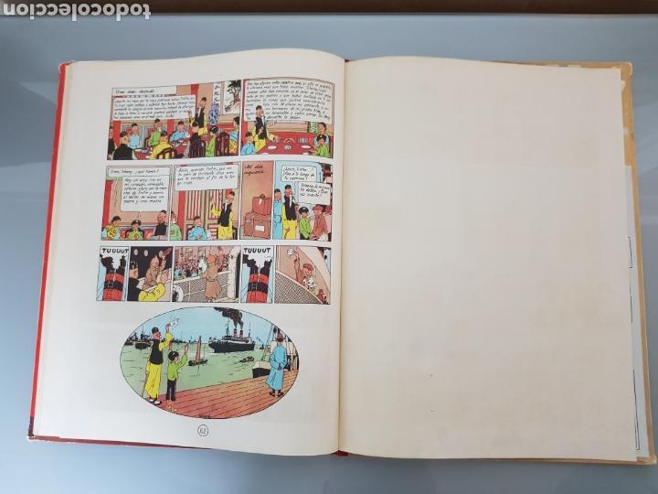 Cómics: TINTIN EL LOTO AZUL 3a EDICION 1970 LIMPIO - Foto 20 - 139184421