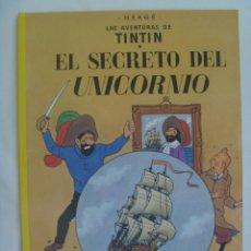 Cómics: LAS AVENTURAS DE TINTIN : EL SECRETO DEL UNICORNIO . HERGÉ ... DE JUVENTD.. Lote 139233362