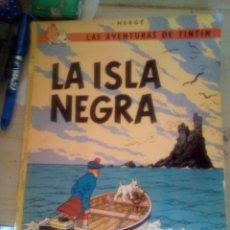 Cómics: TINTIN LA ISLA NEGRA CUARTA EDICION 1974 TAPA BLANDA . Lote 139275842