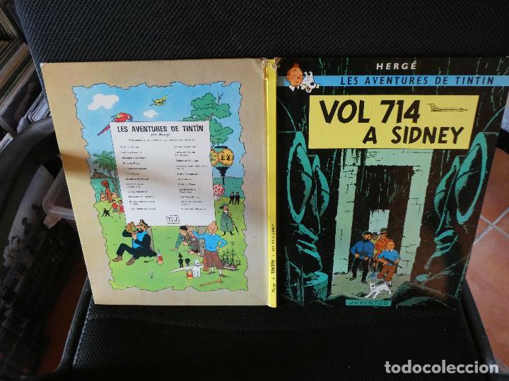 LES AVENTURES DE TINTIN EN CATALA TERCERA EDICIO 1978 VOL 714 SIDNEY (Tebeos y Comics - Juventud - Tintín)
