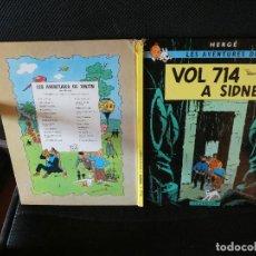 Comics - LES AVENTURES DE TINTIN EN CATALA TERCERA EDICIO 1978 VOL 714 SIDNEY - 139284546