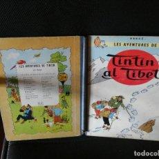Cómics: TINTIN EN EL TIBET PRECIOSA PRIMERA EDICION EN CATALAN 1965 CON LOMO DE TELA. Lote 139287794