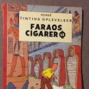 Cómics: HERGÉ - TINTINS OPLEVELSER - FARAOS CIGARER. CÓMIC EN DANÉS.. Lote 139577226