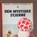 Cómics: HERGÉ - TINTINS OPLEVELSER - DEN MYSTISKE STJERNE. CÓMIC EN DANÉS.. Lote 139626885