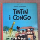 Cómics: HERGÉ - TINTINS OPLEVELSER - TINTIN I CONGO. CÓMIC EN DANÉS.. Lote 139627428