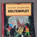 Cómics: HERGÉ - TINTINS OPLEVELSER - SOLTEMPLET. CÓMIC EN DANÉS.. Lote 139628494