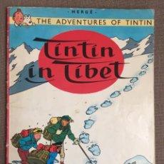Cómics: TINTIN IN TIBET. EDICIÓN INGLESA 1978 TAPA BLANDA. Lote 139629322