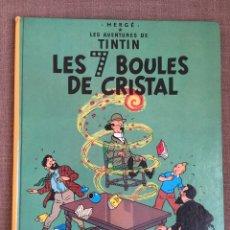 Cómics: TINTIN - LES 7 BOULES DE CRISTAL. ED. CASTERMAN. Lote 139712720