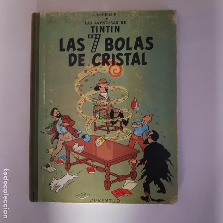 LAS 7 BOLAS DE CRISTAL (Tebeos y Comics - Juventud - Tintín)