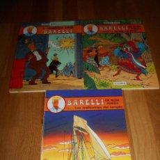 Comics : BARELLI 1 2 3 TRAFICANTES DEL TEMPLO ISLA DEL BRUJO ENIGMATICO SEÑOR JUVENTUD DE MOOR AÑO 1990. Lote 139749718