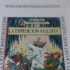 Cómics: LA EXPEDICIÓN MALDITA, BOB MOOR, CORI EL GRUMETE, PRIMERA EDICIÓN 1989.. Lote 139893269